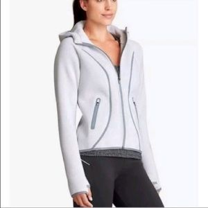 "Athleta New Zip Up Hoodie Jacket  ""Up Fuse"""